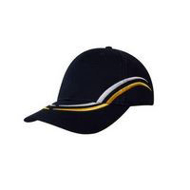 Picture of Brushed Heavy Cotton with Curved Embroidery on Crown and Peak