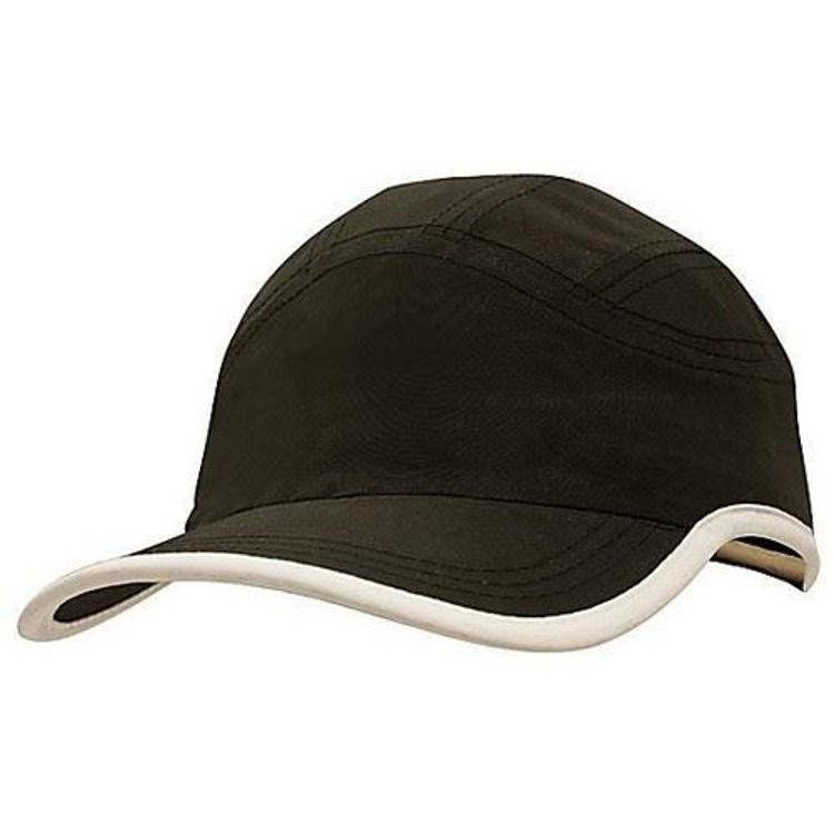 Picture of Microfibre Sports Cap with peak & crown trim